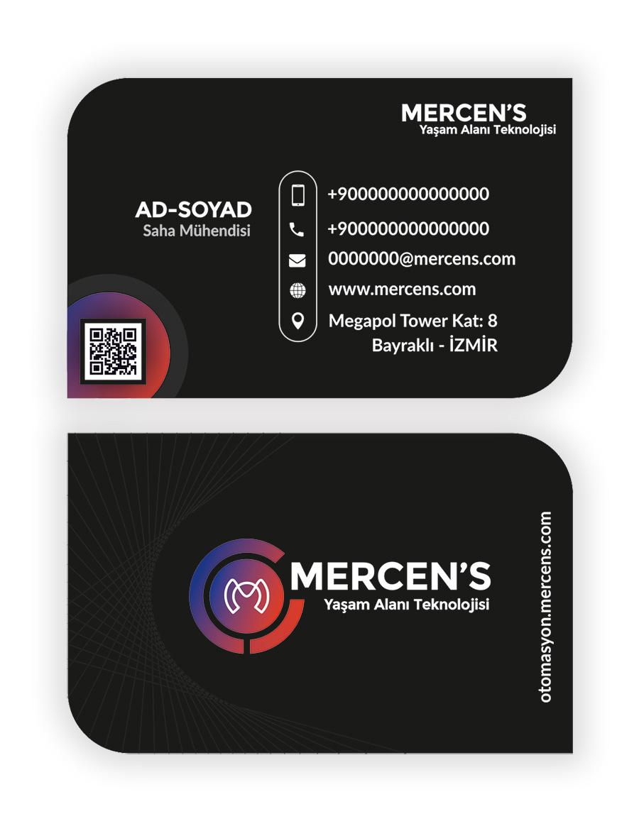 mercens kartvizit tasarımı